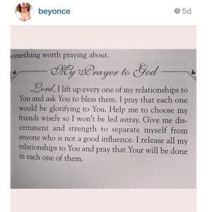 bey prayer